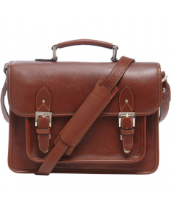ONA Brooklyn Shoulder Bag Chestnut