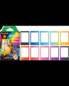 Fujifilm Instax Mini Instant Film Single Pack (10 Shots): Rainbow