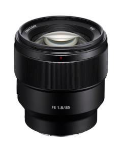 Sony FE 85mm f1.8 Full Frame E-mount Lens