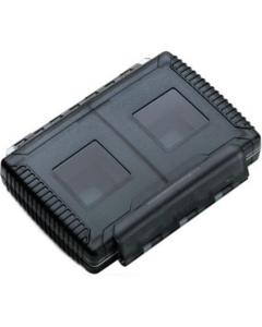 Gepe Card Safe Extreme Memory Card Protector for SD or Compact Flash: Onyx Black