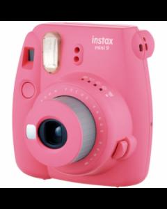 Fujifilm Instax Mini 9 Compact Instant Film Camera: Flamingo Pink