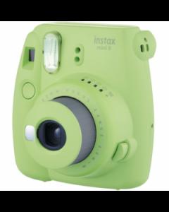 Fujifilm Instax Mini 9 Compact Instant Film Camera: Lime Green