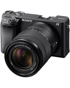 Sony Alpha A6400 Digital Camera with 18-135mm Lens - Black