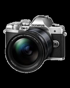 Olympus OM-D E-M10 Mark III Digital Camera with 12-200mm Lens - Silver