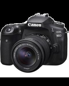 Canon EOS 90D Digital SLR Camera + 18-55mm IS STM Lens Kit