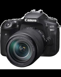 Canon EOS 90D Digital SLR Camera + 18-135mm IS USM Lens Kit