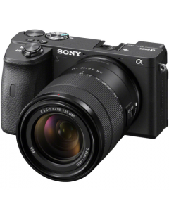 Sony Alpha A6600 Digital Camera with 18-135mm Lens - Black