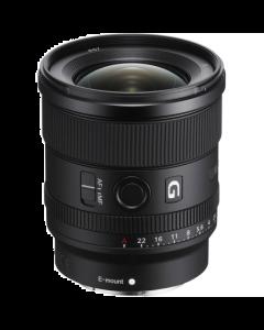 Sony FE 20mm f1.8 G Full Frame E-mount Lens