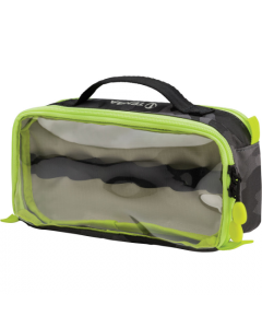 Tenba Tools Cable Duo 4 Cable Pouch Black Camoflage And Lime