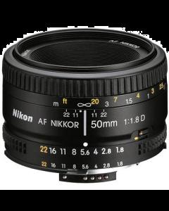 Nikon 50mm f1.8 D AF DSLR Prime Lens