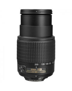 Nikon 55-200mm f4.5-5.6 G AF-S DX Black Lens