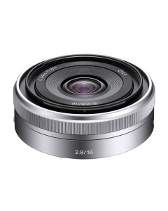 Sony Nex E 16mm f2.8 Pancake Micro SLR Camera Lens