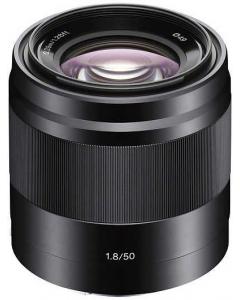 SONY NEX E 50mm F1.8 OSS Lens - Black