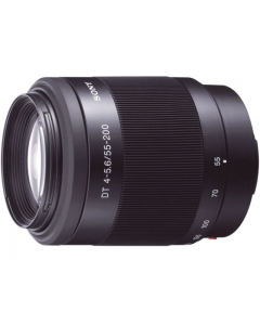 Sony DT 55-200mm f4-5.6 Telephoto A Mount Lens