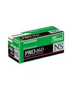 Fujifilm Fujicolor Pro 160NS Colour 120 Roll Film