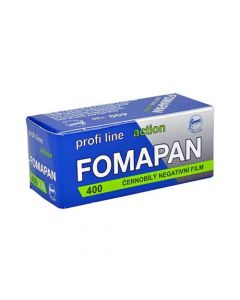 Fomapan Profi Line Action ISO 400 Black & White 120 Roll Film