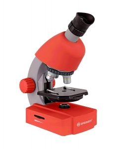Bresser Junior 40-640x Microscope: Red