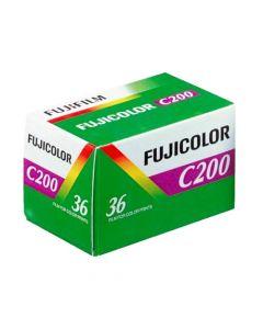 Fujifilm Fujicolor C200 Colour 36 Exposure 35mm Film