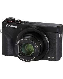 Canon PowerShot G7 X Mark III Digital Compact Camera: Black