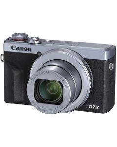 Canon PowerShot G7 X Mark III Digital Compact Camera: Silver
