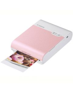 Canon QX10 SELPHY Square Photo Printer: Pink