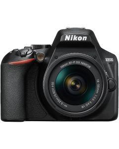 Nikon D3500 Digital SLR Camera + 18-55mm AF-P VR Lens - Black