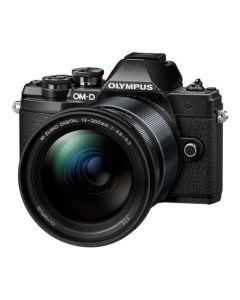 Olympus OM-D E-M10 Mark III Digital Camera with 12-200mm Lens - Black