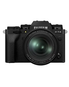 Fujifilm X-T4 Digital Mirrorless Camera with 16-80mm XF Lens - Black