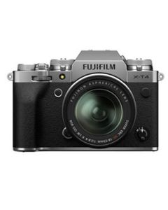 Fujifilm X-T4 Digital Mirrorless Camera with 18-55mm XF Lens - Silver