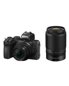 Nikon Z50 Digital Mirrorless Camera with 16-50mm and 50-250mm VR lenses
