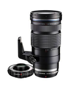 Olympus 40-150mm f2.8 M.Zuiko PRO Digital ED Lens with 1.4x MC-14 Teleconverter