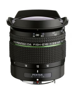 Pentax HD DA Fisheye 10-17mm F3.5-4.5 ED Wide Angle Zoom Lens