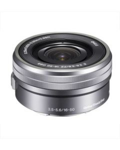 Sony E16-50mm f3.5-5.6 OSS Lens For Sony NEX Digital Camera - Silver: White Box: Refurbished