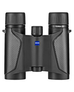 Zeiss Terra ED 10x25 Compact Pocket Binoculars - Black/Black