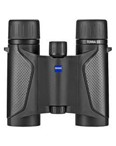 Zeiss Terra ED 8x25 Compact Pocket Binoculars - Black/Black