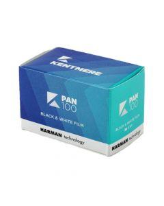 Kentmere Pan ISO 100 Black & White 36 Exposure 35mm Film