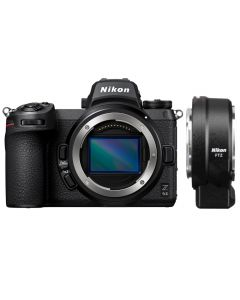 Nikon Z6 II Digital Mirrorless Camera with FTZ Mount Adapter