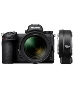 Nikon Z7 II Digital Mirrorless Camera with 24-70mm Lens and FTZ Mount Adapter